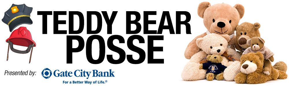Teddy Bear Posse presented by Gate City Bank photo of teddy bears