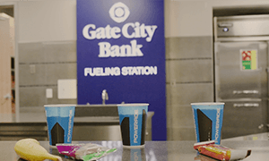 Gate City Bank Fueling Station